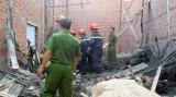 Sập giàn giáo, 1 người chết, 7 người bị thương