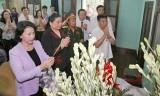 Lãnh đạo Quốc hội dâng hương tưởng niệm Chủ tịch Hồ Chí Minh