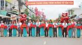 Đức Hòa khánh thành đường Võ Văn Tần