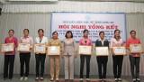 Hội LHPNVN tỉnh Long An vận động tham gia xây dựng nông thôn mới gần 10 tỷ đồng