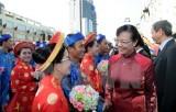 100 cặp đôi tham gia lễ cưới tập thể ở Thành phố Hồ Chí Minh