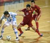 Tuyển futsal VN suýt gây bất ngờ trước Argentina