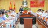 Ban Chỉ đạo Trung ương về phòng, chống tham nhũng làm việc tại Long An