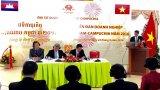 Đoàn cán bộ Long An dự Diễn đàn hợp tác kinh tế Việt Nam - Campuchia