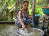 Gần 20 hộ dân chịu cảnh thiếu nước giữa mùa mưa