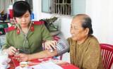 Đoàn Thanh niên Công an tỉnh thăm và phụng dưỡng Mẹ Việt Nam Anh hùng