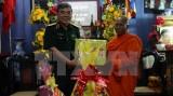 Ban chỉ đạo Tây Nam Bộ chúc mừng lễ Sene Dolta của đồng bào Khmer