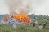Tiêu hủy gần 236.000 gói thuốc lá lậu