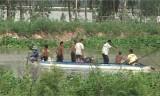Vĩnh Hưng: Chìm xuồng trên sông một người mất tích