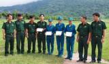 Bộ Chỉ huy Quân sự tỉnh thăm vận động viên tham gia Hội thao toàn quân