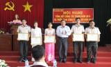 Năm 2016: Chi cục THADS thị xã Kiến Tường giải quyết xong 504 việc, đạt tỷ lệ 84,42%
