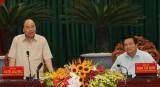 Thủ tướng Chính Phủ - Nguyễn Xuân Phúc làm việc với lãnh đạo tỉnh Long An