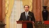 Chủ tịch nước gặp mặt Hội truyền thống đường Hồ Chí Minh trên biển
