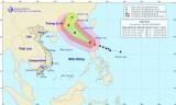 Bão số 8 có gió giật cấp 16 tiến vào Biển Đông