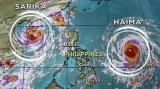 Siêu bão Haima tàn phá phía bắc Philippines