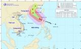 Bão số 8 suy yếu thành áp thấp nhiệt đới trong 24 đến 48 giờ tới