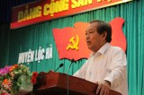 PTT Trương Hòa Bình kiểm tra công tác bồi thường cho ngư dân