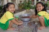 Trường mầm non thị trấn Cần Đước: Trẻ học qua những trải nghiệm thực tế