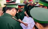 Bộ Tổng Tham mưu kiểm tra đường tuần tra biên giới