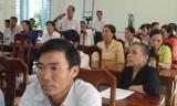 Đại biểu HĐND tỉnh Long An tiếp xúc cử tri huyện Cần Giuộc, Đức Huệ và Thạnh Hóa