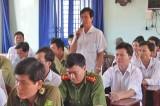 Cử tri Cần Giuộc đề nghị nâng mức cho vay vốn, hỗ trợ nông dân phát triển sản xuất