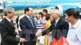 Chủ tịch nước Trần Đại Quang thăm Đại sứ quán Việt Nam tại Cuba