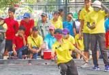 Trên 110 VĐV tranh tài Giải vô địch Petanque đồng đội toàn quốc năm 2016
