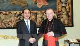 Chủ tịch nước hội kiến Giáo hoàng Francis, gặp Thủ tướng Vatican