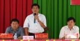 Bí thư Huyện ủy Mộc Hóa đối thoại với nhân dân về xây dựng nông thôn mới