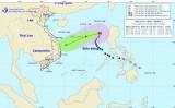 Bão số 9 giật cấp 11, cách quần đảo Hoàng Sa 610 km