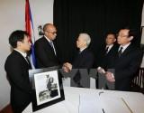 Lãnh đạo Đảng, Nhà nước, Chính phủ viếng lãnh tụ Cuba Fidel Castro