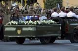 Cuba bắt đầu lễ an táng lãnh tụ cách mạng Fidel Castro Ruz