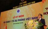 Phó Thủ tướng Vũ Đức Đam dự kỷ niệm 60 năm y tế dự phòng Việt Nam