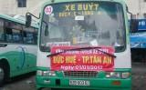 Mở tuyến xe buýt Tân An - Đức Huệ