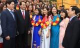 Chủ tịch nước Trần Đại Quang gặp mặt 60 Bí thư Chi bộ tiêu biểu