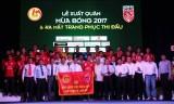 Mùa giải 2017: Câu lạc bộ bóng đá Long An đặt mục tiêu nằm ở tốp giữa bảng xếp hạng