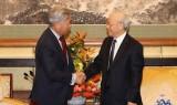 Tổng Bí thư: Việt Nam hết sức coi trọng hợp tác kinh tế với Trung Quốc