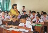Học sinh trở lại trường sau thời gian nghỉ tết