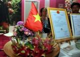 Thanh long Việt Nam tham gia Hội chợ quốc tế trái cây ở Berlin