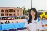 Sóc Trăng: Nữ sinh tốt nghiệp đại học loại giỏi tình nguyện nhập ngũ