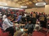 Hàng chục ngàn người tham gia hiến máu ở Lễ hội Xuân hồng