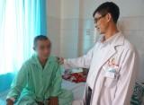 Nam thanh niên bị đâm xuyên hộp sọ sắp xuất viện