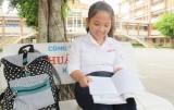 Nghị lực của cô học trò khuyết tật