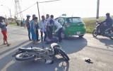 Bến Lức: 30 phút xảy ra 2 vụ tai nạn giao thông trên cùng đoạn đường