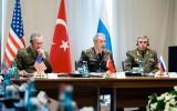 Tướng lĩnh quân đội Mỹ, Nga, Thổ thảo luận tình hình Iraq, Syria