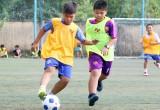 Ngày đầu tuyển sinh tài năng bóng đá Việt Nam: Gần 120 thí sinh tham gia