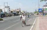 Lắp đèn tín hiệu ngã ba Quốc lộ 1 - Nguyễn Văn Tiếp