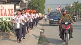 Đức Hòa: Mittinh và diễu hành lập lại trật tự an toàn giao thông