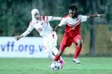 Syria thua Singapore 0-1