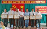 Huyện Thủ Thừa có trên 8.400 nông dân sản xuất, kinh doanh giỏi các cấp năm 2016